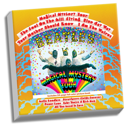 "Picture of Beatles ART: The Beatles Magical Mystery Tour 20"" x 20"" Stretched Canvas"