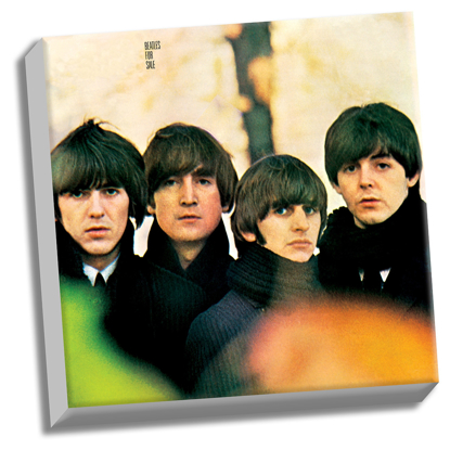 "Picture of Beatles ART: The Beatles Beatles for Sale 20"" x 20"" Stretched Canvas"