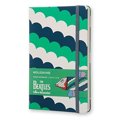 Picture of Beatles Notebook: The Beatles Yellow Submarine Ruled Notebook (Molekine)