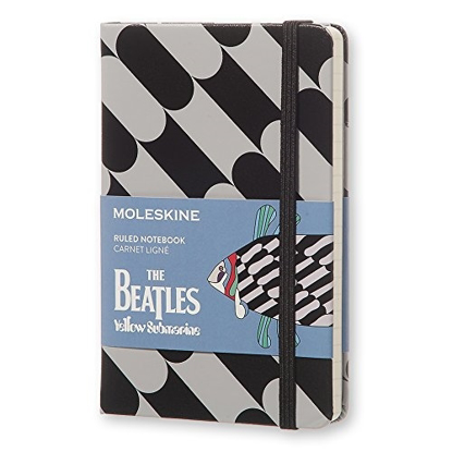 Picture of Beatles Notebook: The Beatles Ruled Notebook Yellow Submarine (Molekine)