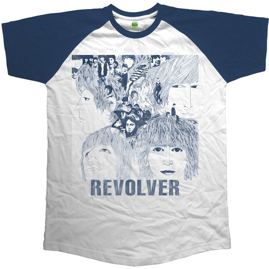 Picture of Beatles Adult T-Shirt: Beatles Revolver Raglan
