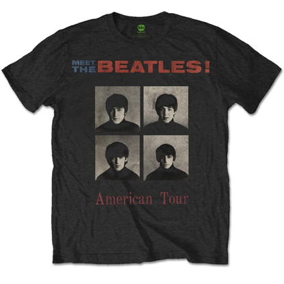Picture of Beatles Adult T-Shirt: Beatles American Tour 1964