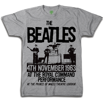 Picture of Beatles Youth T-Shirt: Prince of Wales Theatre 1963 Poster