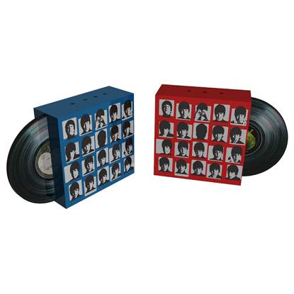 "Picture of Beatles Salt & Pepper: The Beatles ""Hard Day's Night"" Ceramic Salt & Pepper Set"