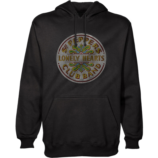 Picture of Beatles Hoodie: Sgt.Pepper Seal Black Pullover