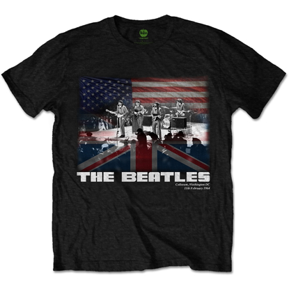 Picture of Beatles Adult T-Shirt: Beatles Washington Tee