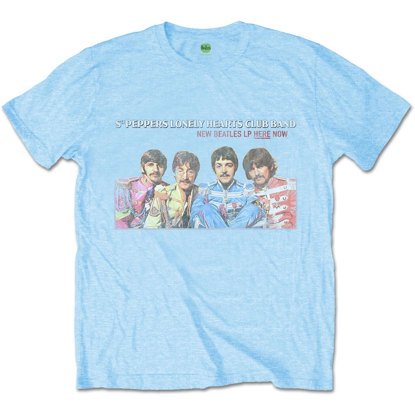 Picture of Beatles Adult T-Shirt: Sgt Peppers 67 LP Promo