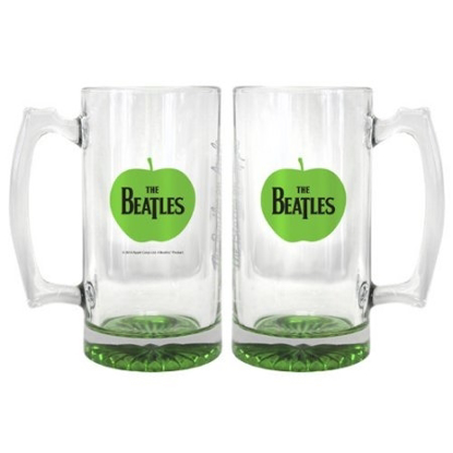 Picture of Beatles Glass: 25 oz Apple Root Beer Mug