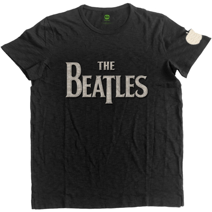 Picture of Beatles Adult T-Shirt: DropT Logo & Apple