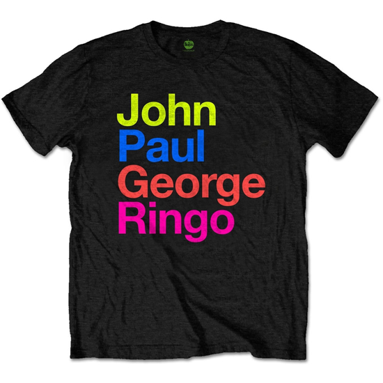 Picture of Beatles Adult T-Shirt: JPG&R in the SGT. Pepper Suit Colours