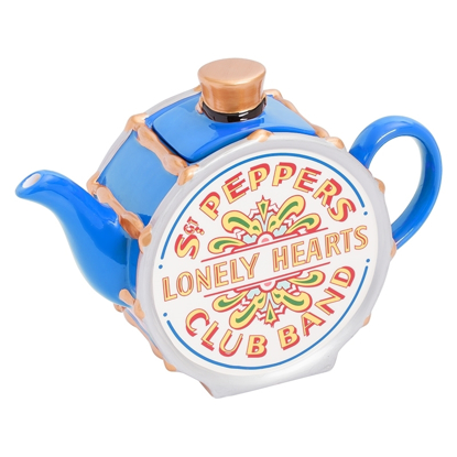 "Picture of Beatles Tea Pot: The Beatles Sgt Pepper's Tea Pot ""Limited Edition"" Blue"
