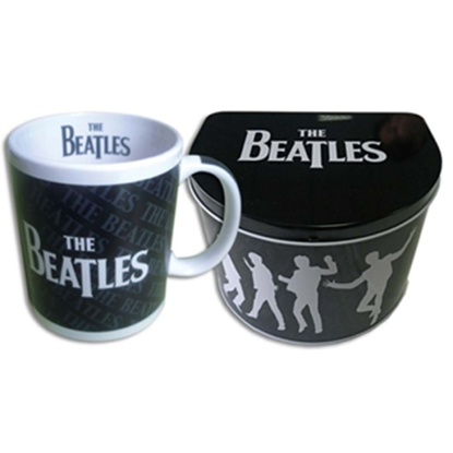 Picture of Beatles Mug: The Beatles Drop T Mug in a Tin