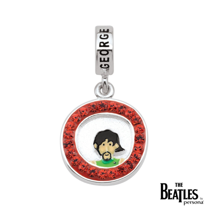 Picture of Beatles Jewelry: Beatles Charms  - George Harrison Yellow Submarine Cartoon Charm