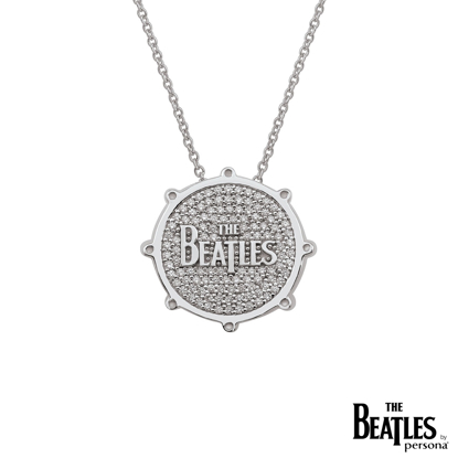 Picture of Beatles Jewelry: Beatles Necklace - Drum DropT Logo