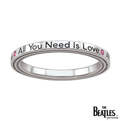 Picture of Beatles Jewelry: Beatles Ring - All You Need Is Love