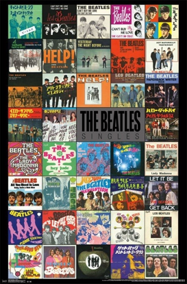 Picture of Beatles Poster:  Singles