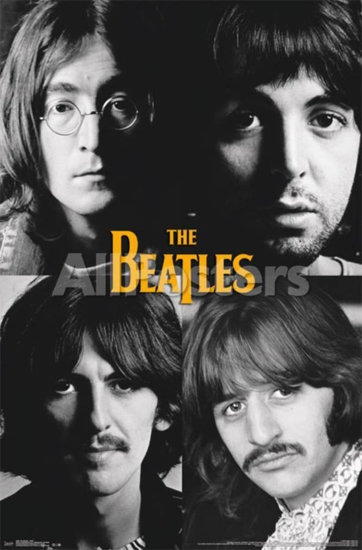 Beatles Poster Let It Be