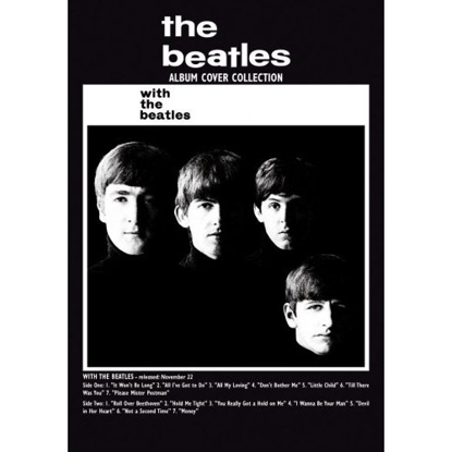 Picture of Beatles Postcard Card: The Beatles With Album (Standard)