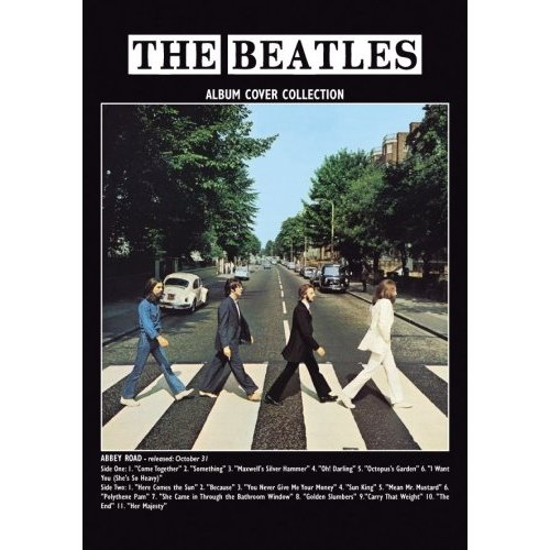 Beatles Postcard Card The Abbey Road Album