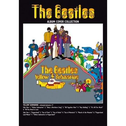 "Picture of Beatles Postcard Card: The Beatles ""Yellow Submarine"" (Standard)"