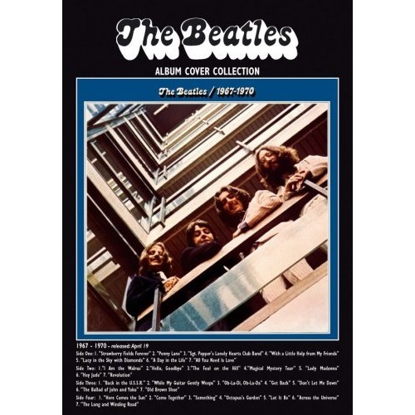 "Picture of Beatles Postcard Card: The Beatles ""1967-1970"" (Standard)"