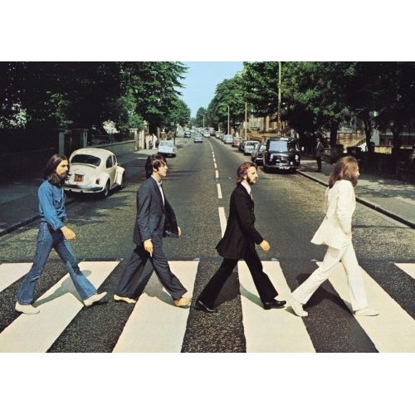 "Picture of Beatles Postcard Card: The Beatles ""Abbey Road Crossing"" (Standard)"
