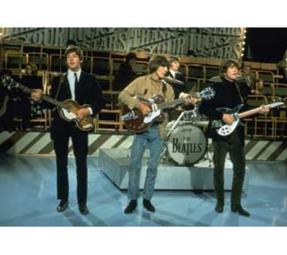 "Picture of Beatles Postcard Card: The Beatles ""The Lucky Stars Show"""