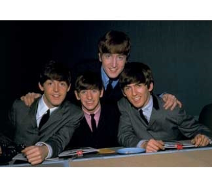 "Picture of Beatles Postcard Card: The Beatles ""Press Shot"""