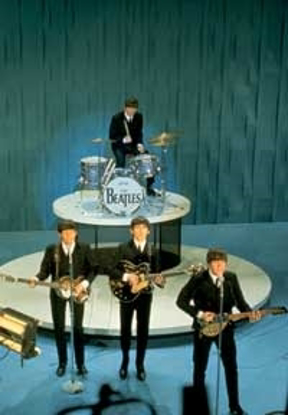 "Picture of Beatles Postcard Card: The Beatles ""The Ed Sullivan Show"""