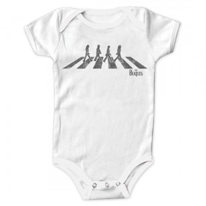 Picture of Beatles Onesie's: Abbey Road White