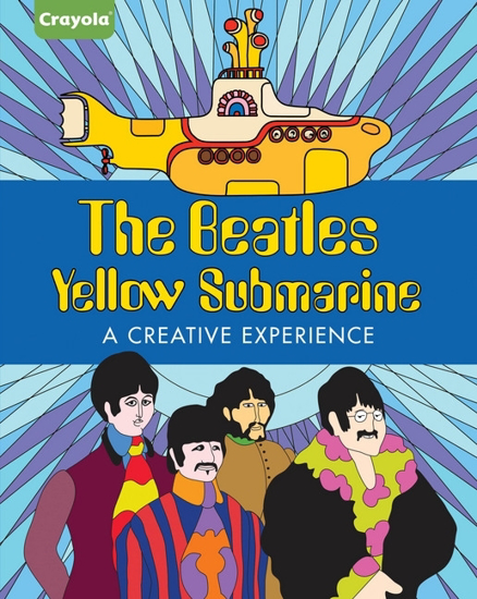 beatles coloring book yellow submarine crayola coloring book beatles fab four store. Black Bedroom Furniture Sets. Home Design Ideas