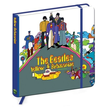 Picture of Beatles Notebook: The Beatles Yellow Submarine Album Cover Notebook