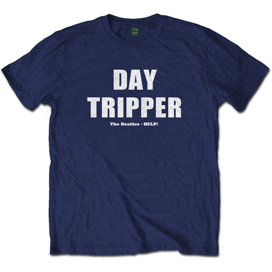 "Picture of Beatles Adult T-Shirt: Beatles Song Lyric Edition ""Day Tripper"""
