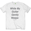 "Picture of Beatles Adult T-Shirt: Beatles Song Lyric Edition ""While My Guitar Gently Weeps"""