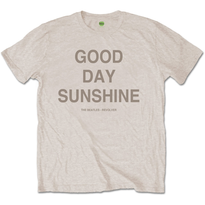 "Picture of Beatles Adult T-Shirt: Beatles Song Lyric Edition ""Good Day Sunshine"""