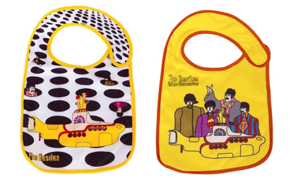 Picture of Beatles Baby: Yellow Submarine Baby Bibs