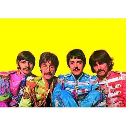 "Picture of Beatles Postcard Card: The Beatles ""Sgt. Pepper Portrait"" (Giant)"
