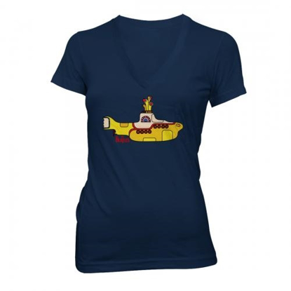 Picture of Beatles Jr's T-Shirt: Yellow Submarine V Neck
