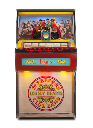 Picture of Beatles Jukebox: Sgt. Pepper's Vinyl 45 Jukebox
