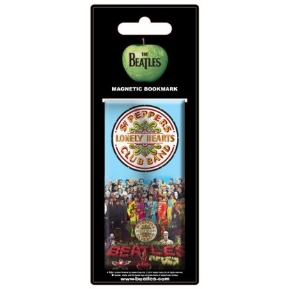 Picture of Beatles Bookmark: Magnetic Bookmark Sgt. Pepperm