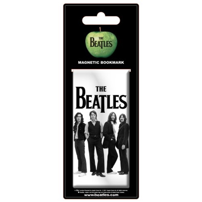 Picture of Beatles Bookmark: Magnetic Bookmark White Iconic Image