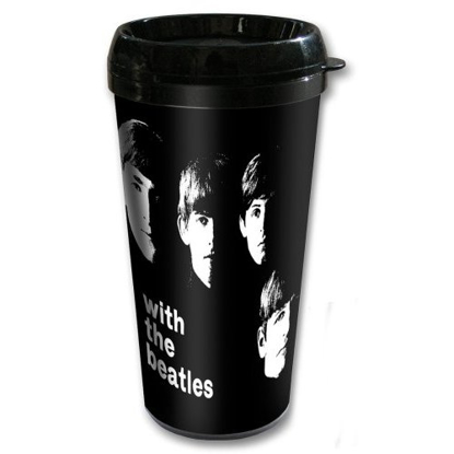 Picture of Beatles Travel Mug: The Beatles With the Beatles