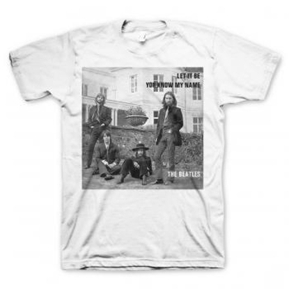 Picture of Beatles Adult T-Shirt: Beatles Let it Be U Know?