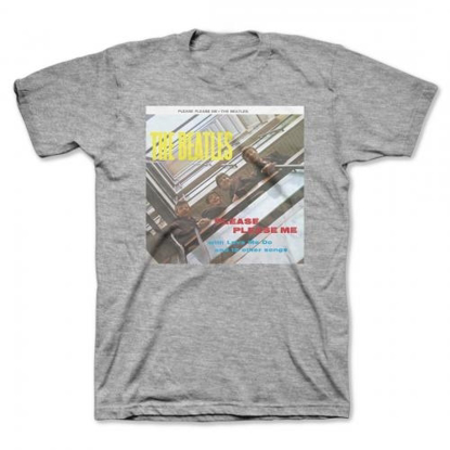 "Picture of Beatles Adult T-Shirt: Beatles Album Cover ""Please Please Me"""