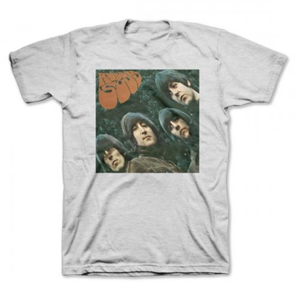 "Picture of Beatles Adult T-Shirt: Beatles Album Cover ""Rubber Soul"""
