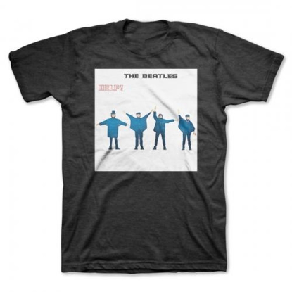 "Picture of Beatles Adult T-Shirt: Beatles Album Cover ""HELP"""