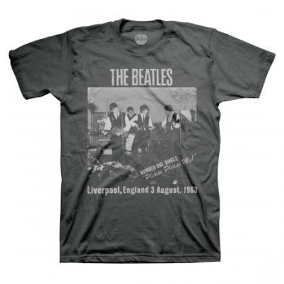 Picture of Beatles Adult T-Shirt: The Beatles Cavern 3rd Aug 1962