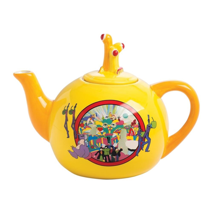 Picture of Beatles Tea Pot: The Beatles Yellow Submarine Ceramic Teapot