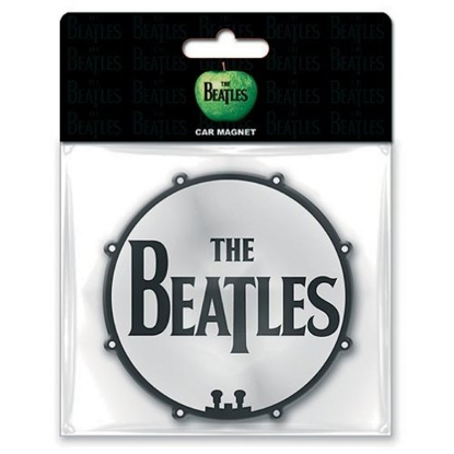 Picture of Beatles Rubber Car Magnet: Drum head