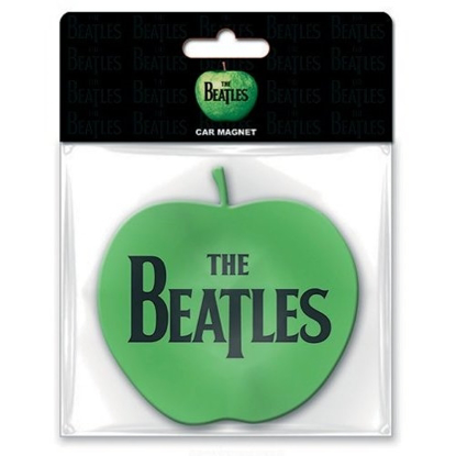 Picture of Beatles Rubber Car Magnet:  Apple